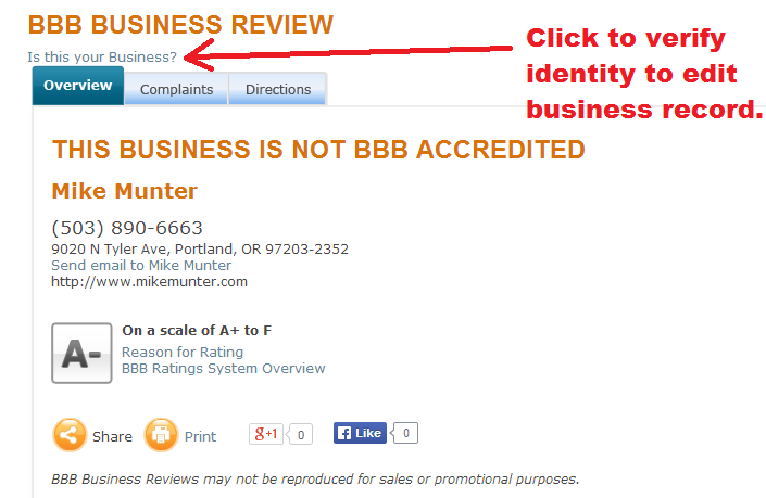 bbb -business review