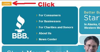 bbb - click login