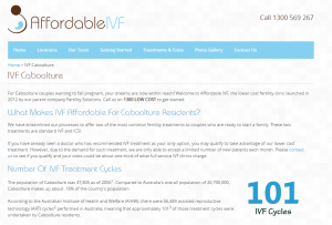 affordable ivf caboolture page