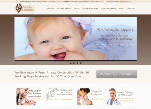 new fertility solutions website