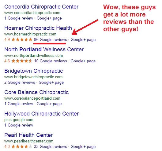 reviews of chiropractors