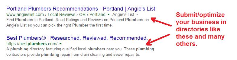 plumber directories