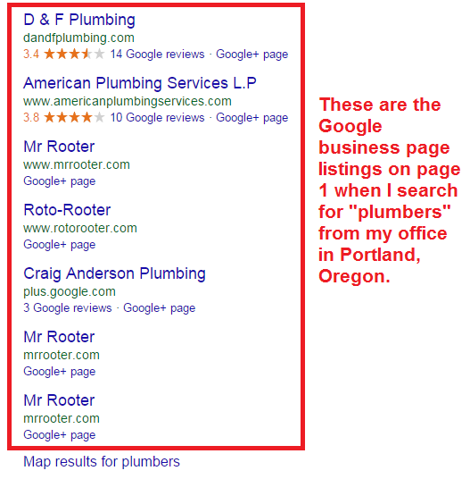 plumbers local listings