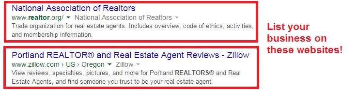 realtor directory listings