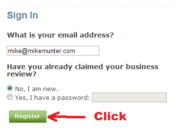 bbb - sign in to claim business