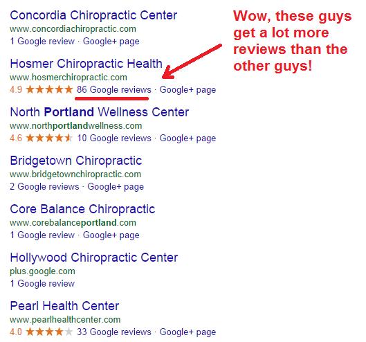 reviews of chiropractors