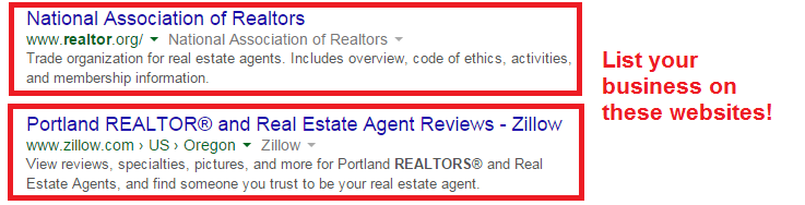 realtor directory listings