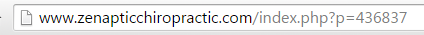 clunky url extension from chiroplanet