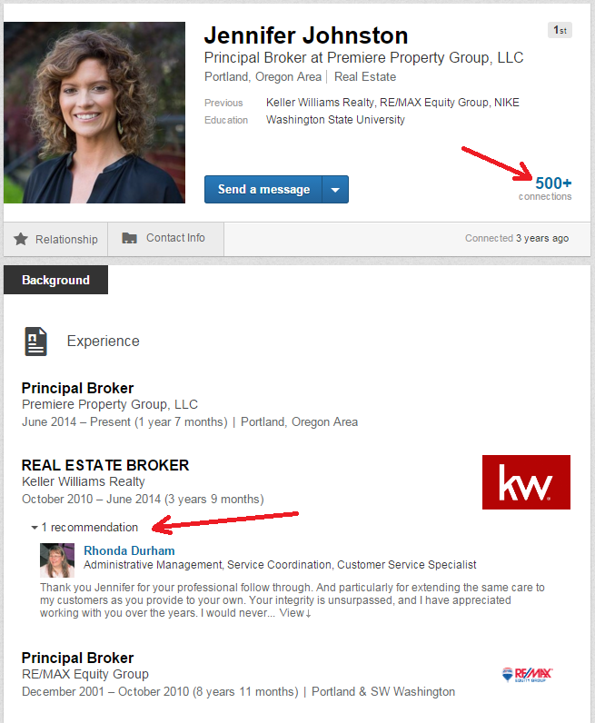 jennifer johnston linkedin profile