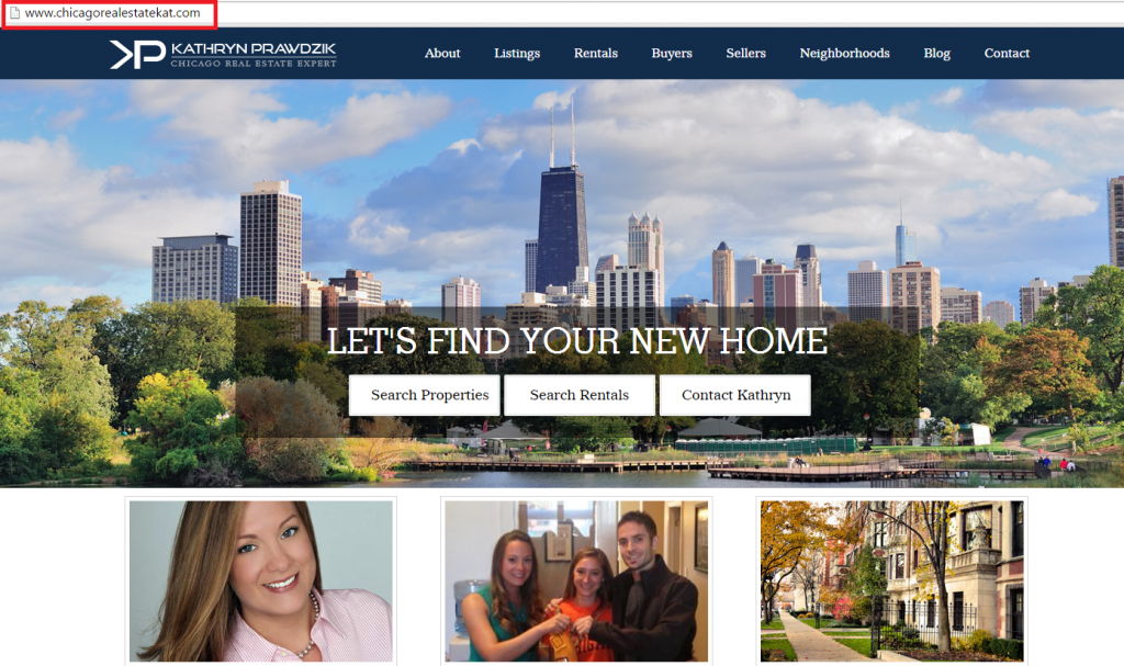 chicago real estate website