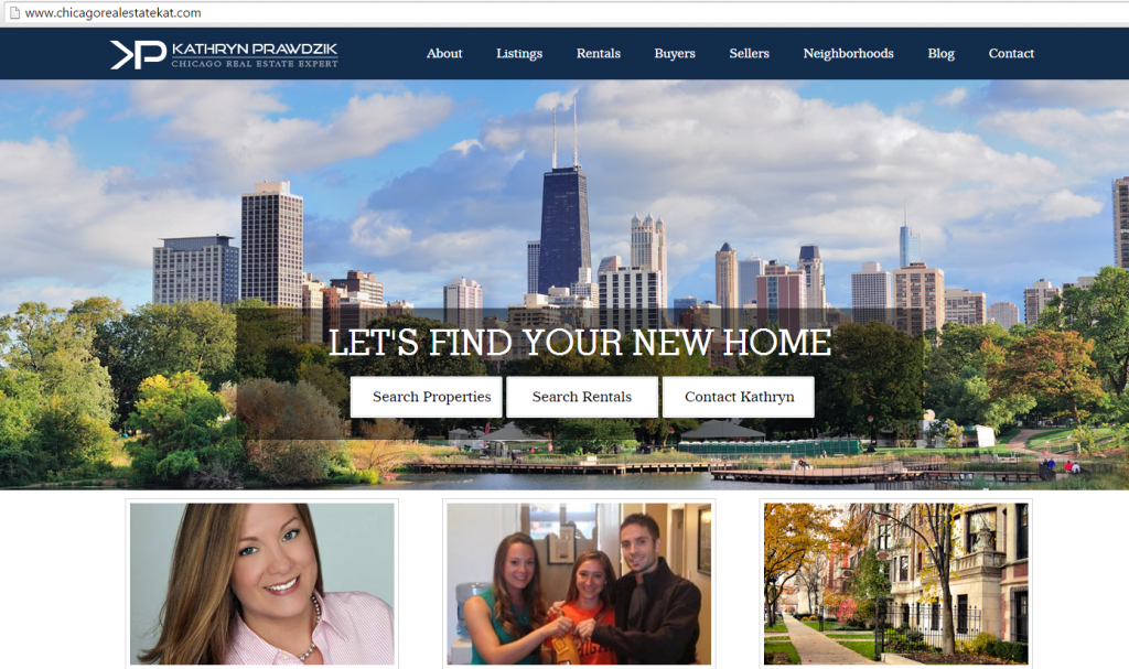 chicago real estate website