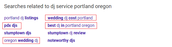 Related Searches - DJ portland oregon