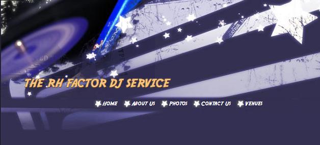 DJ portland oregon RHFactor logo